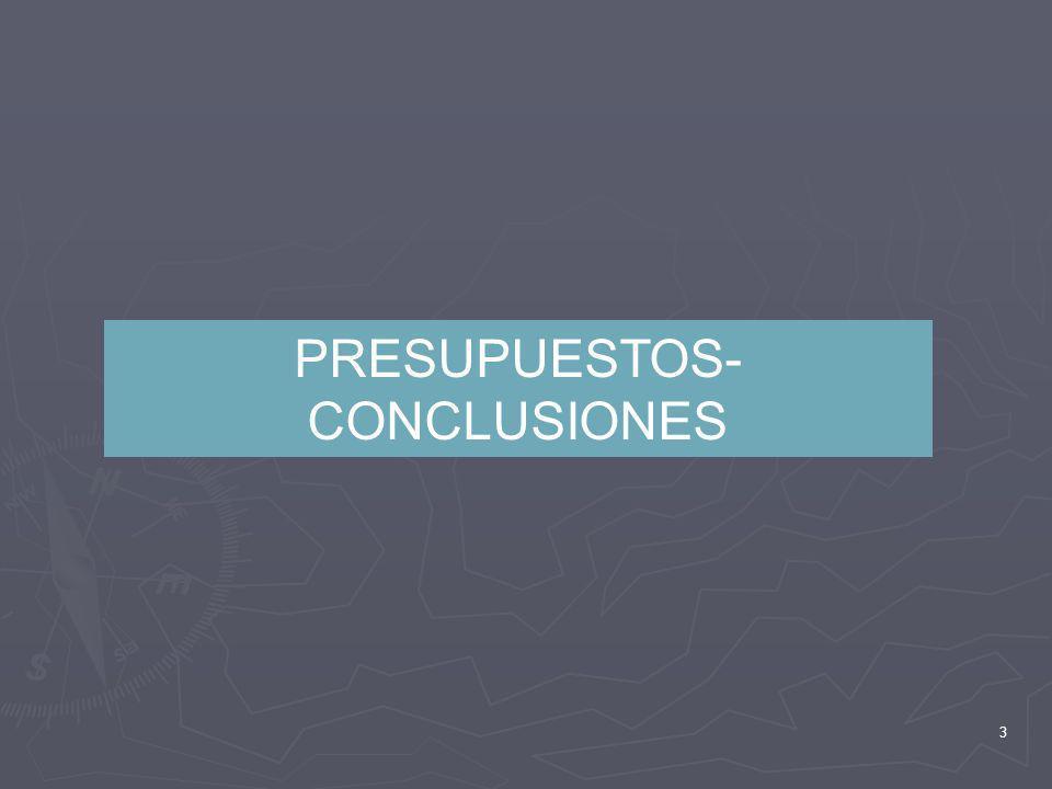 3 PRESUPUESTOS- CONCLUSIONES