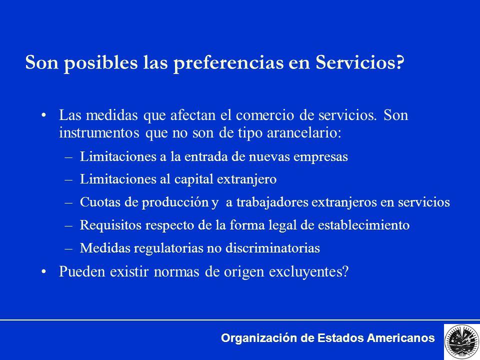 Organización de Estados Americanos Elementos Posibles de un Acuerdo en Comercio de Servicios (3)