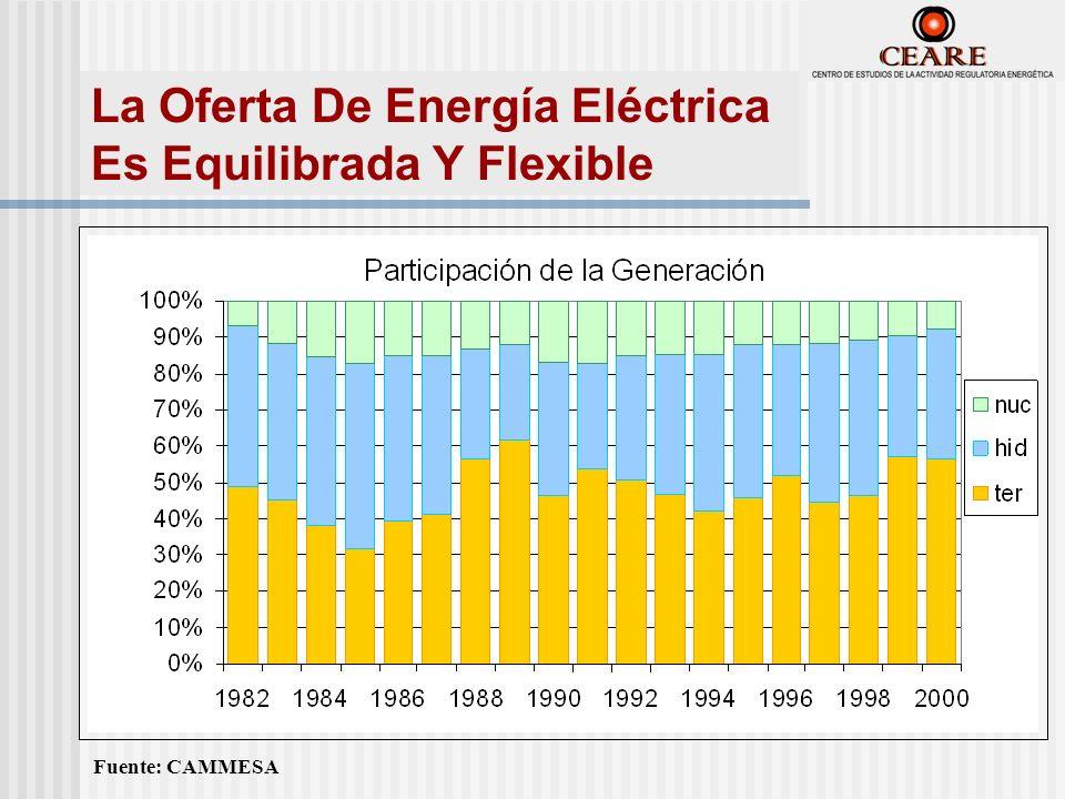 Fuente: CAMMESA La Oferta De Energía Eléctrica Es Equilibrada Y Flexible