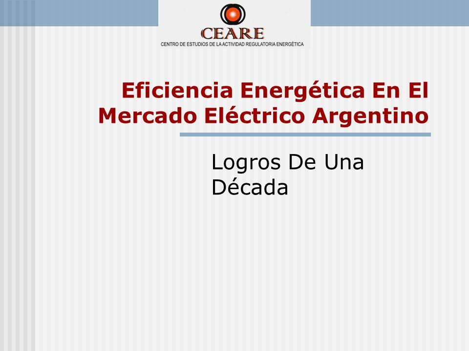 Eficiencia Energética En El Mercado Eléctrico Argentino Logros De Una Década