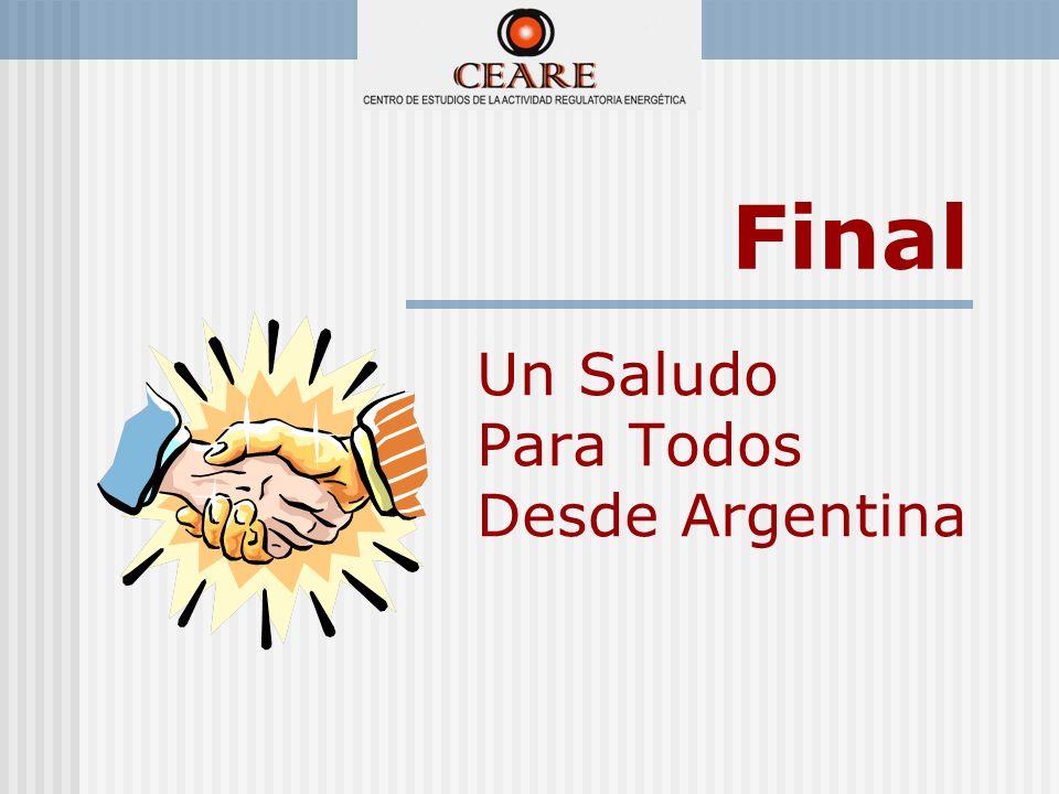 Final Un Saludo Para Todos Desde Argentina