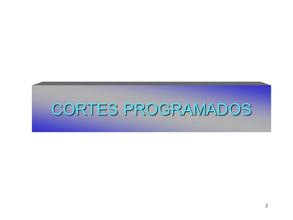 3 CORTES PROGRAMADOS