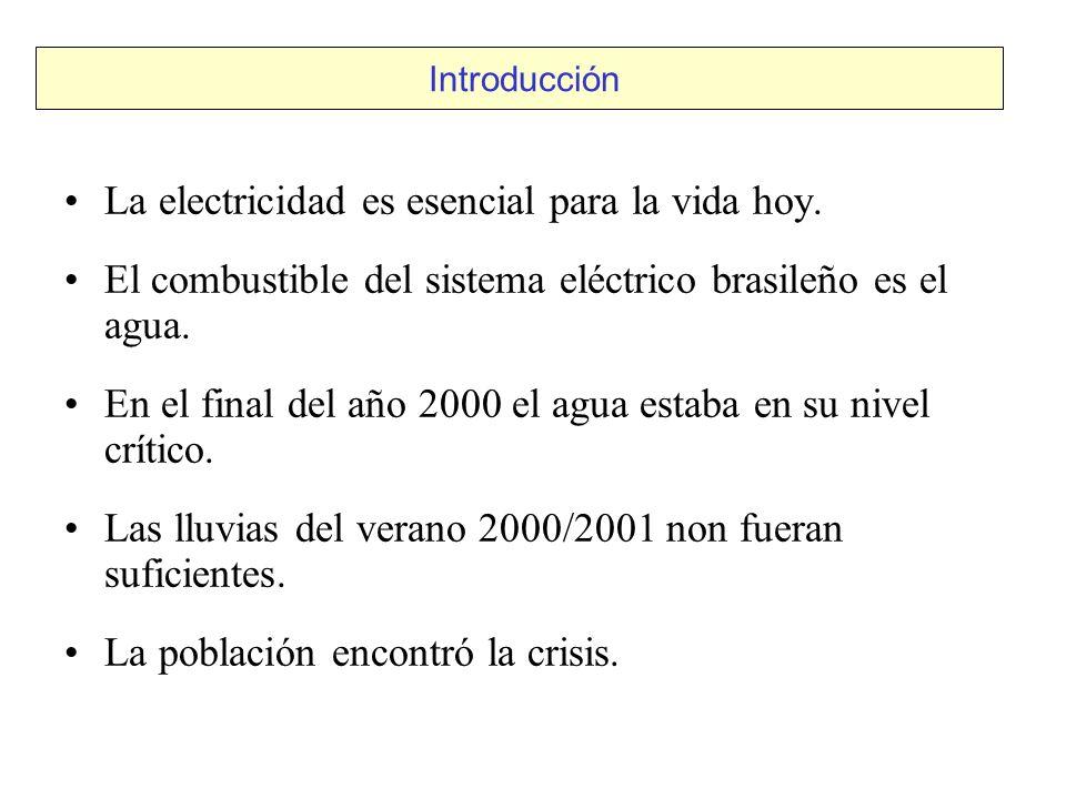 La electricidad es esencial para la vida hoy.