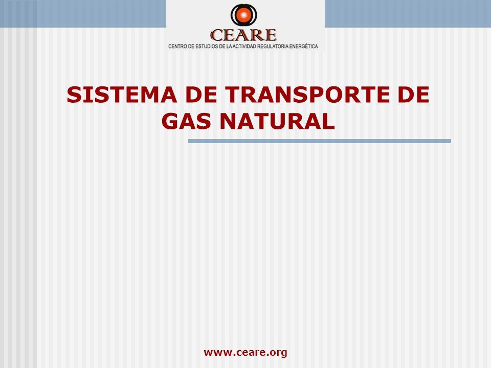 www.ceare.org SISTEMA DE TRANSPORTE DE GAS NATURAL