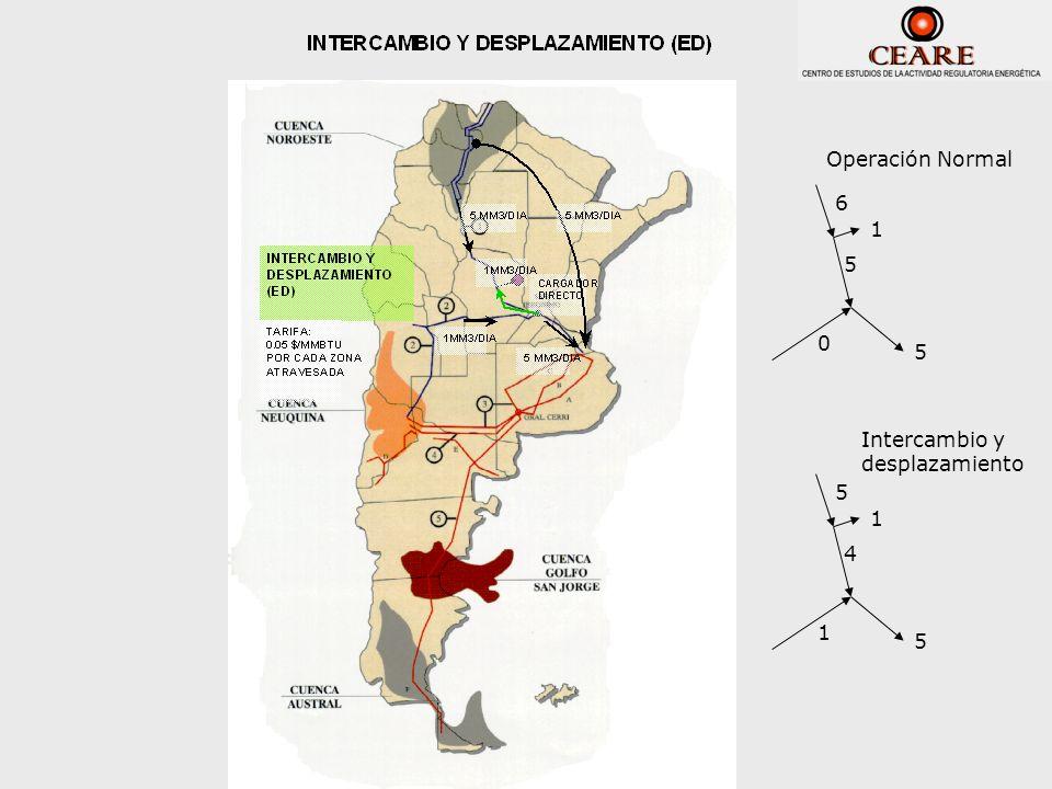 6 5 0 5 1 Operación Normal 5 4 1 5 1 Intercambio y desplazamiento