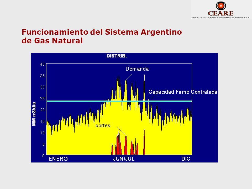 Funcionamiento del Sistema Argentino de Gas Natural
