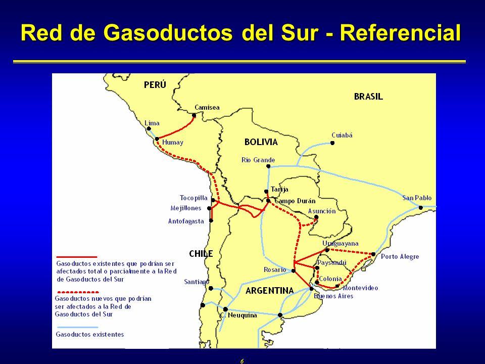 6 Red de Gasoductos del Sur - Referencial