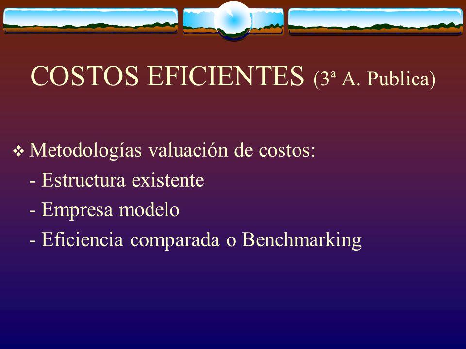 COSTOS EFICIENTES (3ª A.