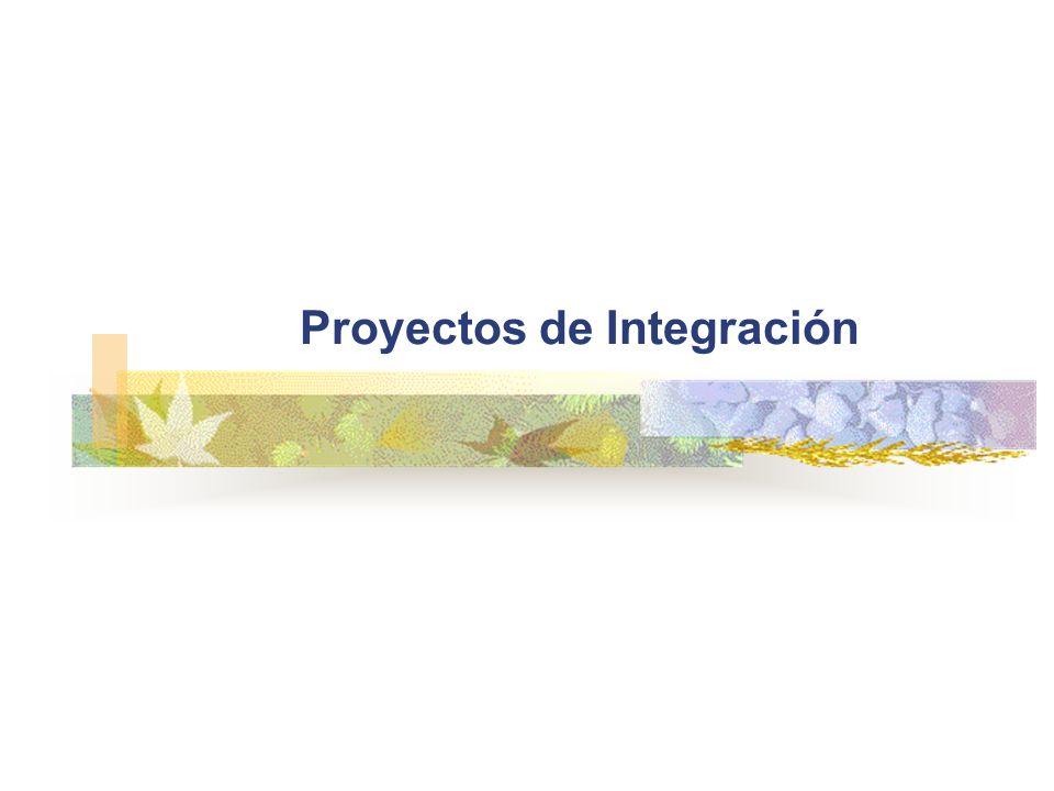 Proyectos de Integración