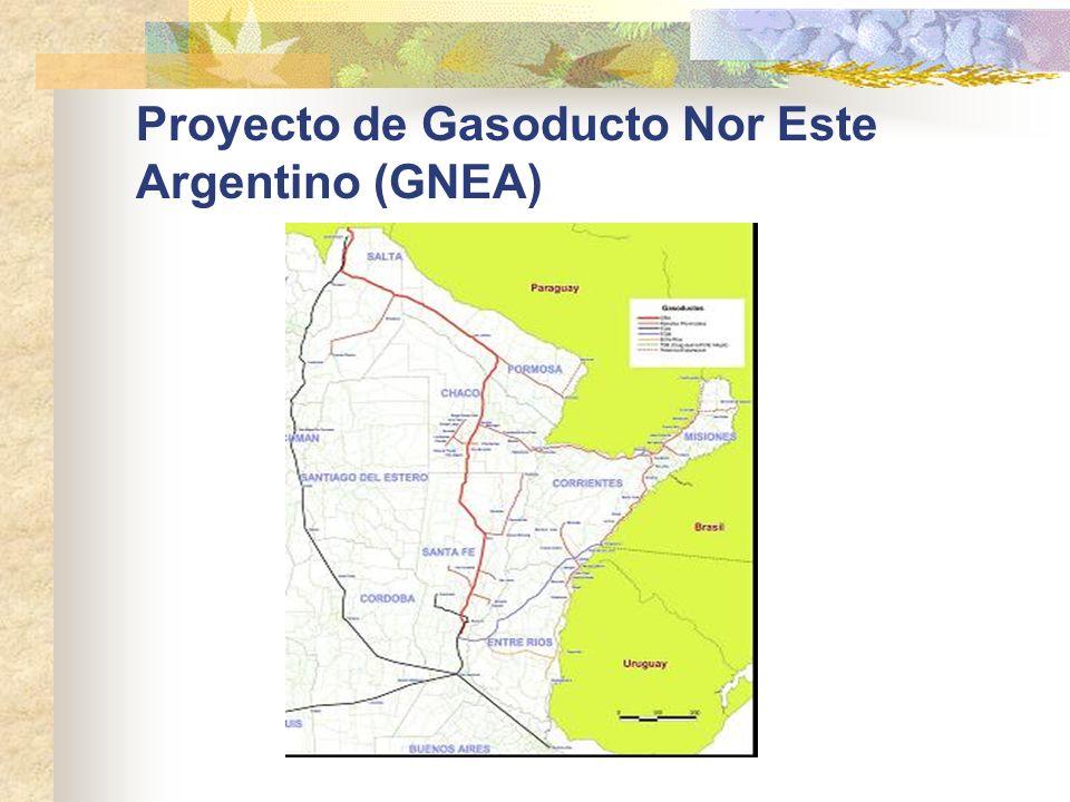 Proyecto de Gasoducto Nor Este Argentino (GNEA)