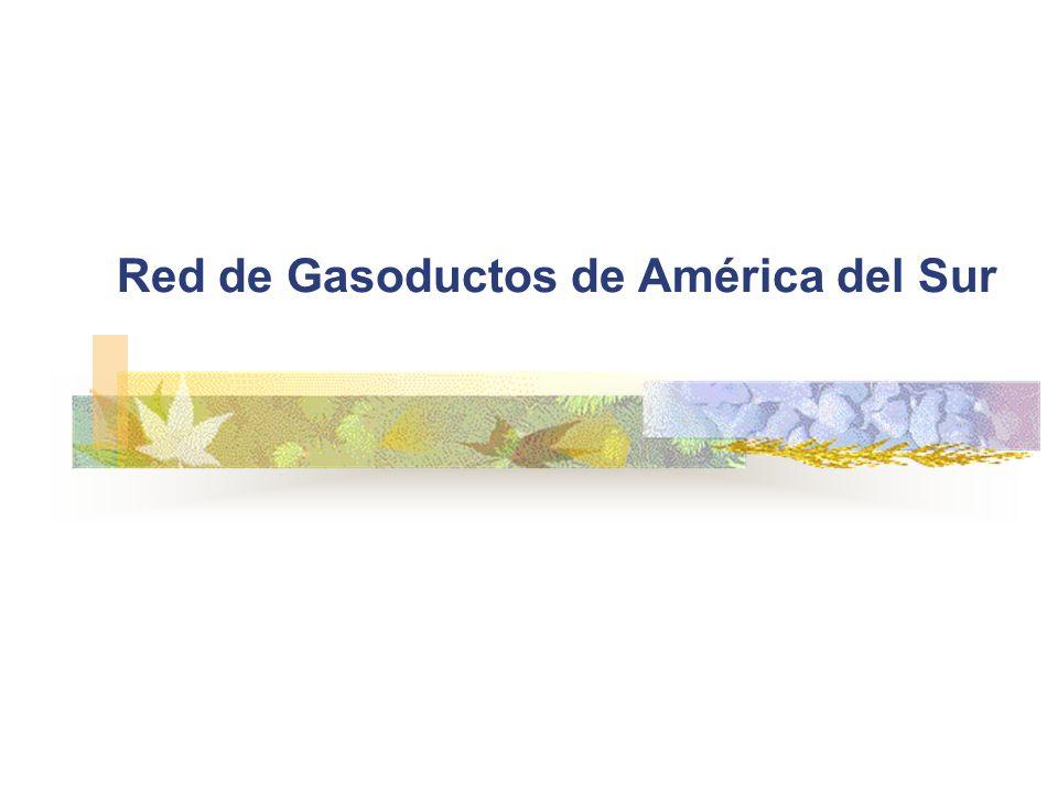 Red de Gasoductos de América del Sur