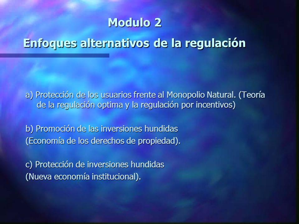Modulo 2 Promoción de las inversiones hundidas (Economía de los derechos de propiedad).
