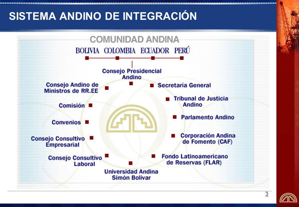 14 SISTEMA ANDINO DE NORMALIZACION, ACREDITACION, ENSAYOS, CERTIFICACION Y REGLAMENTOS TECNICOS Y METROLOGIA MARCO JURIDICO Decisión 376: Sistema Andino de Normalización, Acreditación, Ensayos, Certificación, Reglamentos Técnicos y Metrología.