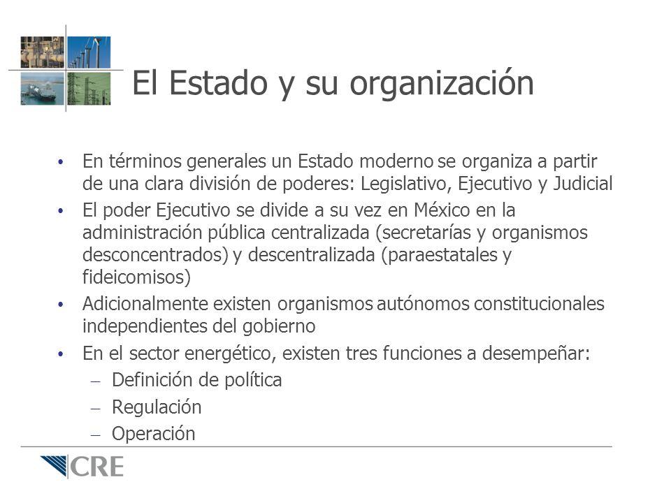 El Estado y su organización En términos generales un Estado moderno se organiza a partir de una clara división de poderes: Legislativo, Ejecutivo y Ju