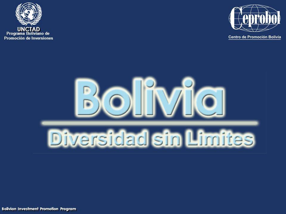 Bolivian Investment Promotion Program UNCTAD Programa Boliviano de Promoción de Inversiones