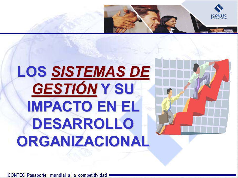 ICONTEC Pasaporte mundial a la competitividad LOS SISTEMAS DE GESTIÓN Y SU IMPACTO EN EL DESARROLLO ORGANIZACIONAL