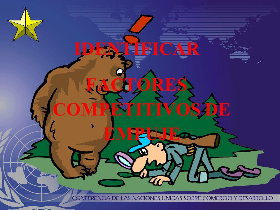 IDENTIFICAR FACTORES COMPETITIVOS DE EMPUJE