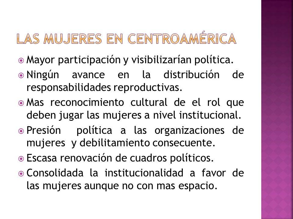 Mayor participación y visibilizarían política.