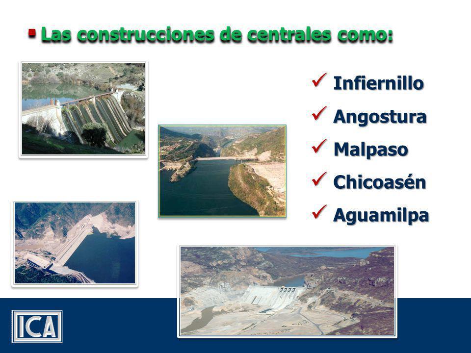 Las centrales hidroeléctricas son piezas fundamentales del Sistema Eléctrico Nacional Mexicano.