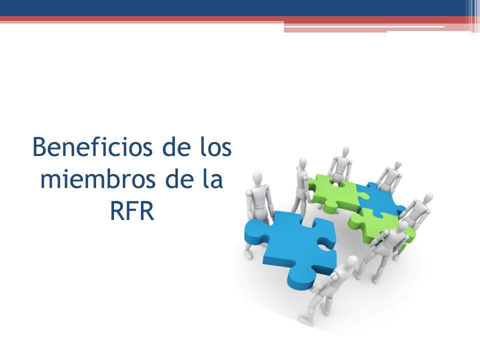 Beneficios de los miembros de la RFR