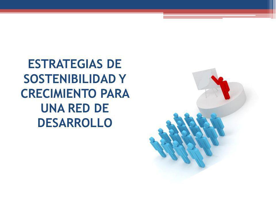 ESTRATEGIAS DE SOSTENIBILIDAD Y CRECIMIENTO PARA UNA RED DE DESARROLLO
