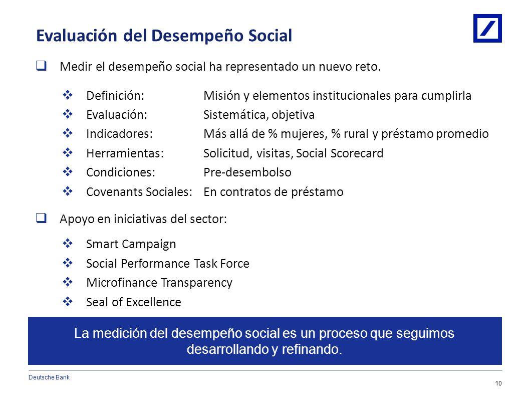 Enfoque en Desempeño Social 9