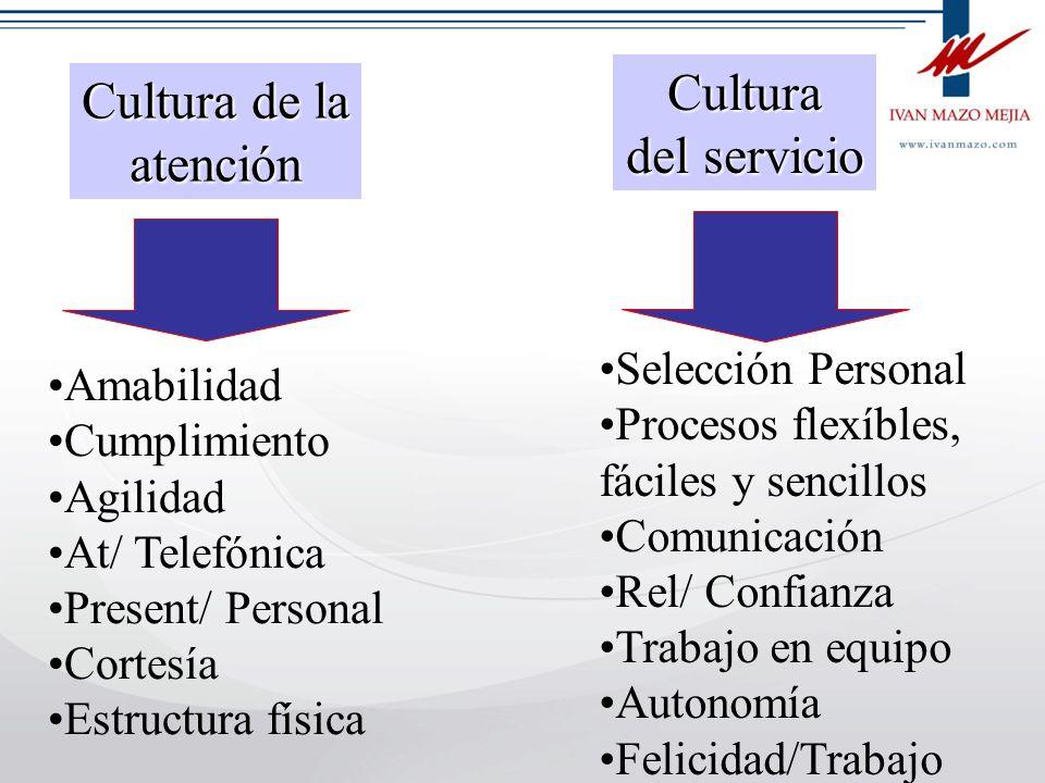 IVAN MAZO MEJÍA Consultoría y Asesoría Gerencial Tel 336 11 77 Medellín CULTURA DE LA ATENCIÓN Los clientes no dan reconocimiento adicional a quienes