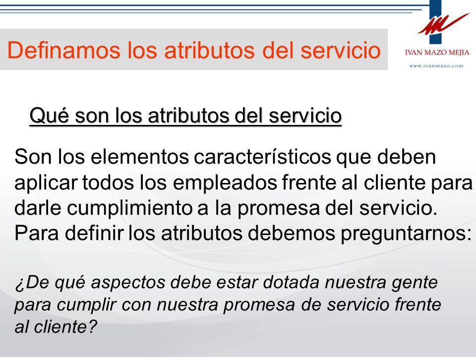 Definamos la promesa del servicio Qué es una promesa del servicio Es una declaración específica, clara y contundente que le sirve a los empleados de c