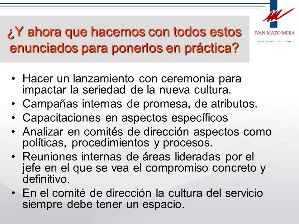 Definamos los mandamientos del servicio Qué son los mandamientos del servicio Son mandatos taxativos cortos, directos, que inducen la acción del emple