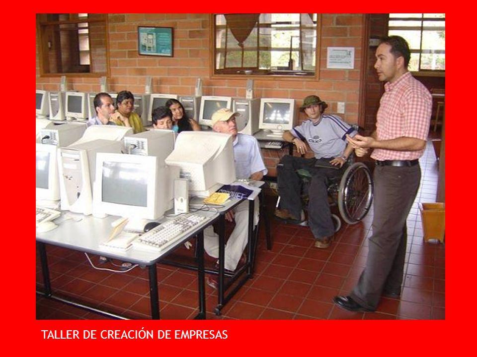 TALLER DE CREACIÓN DE EMPRESAS