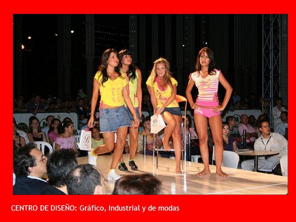 CENTRO DE DISEÑO: Gráfico, Industrial y de modas