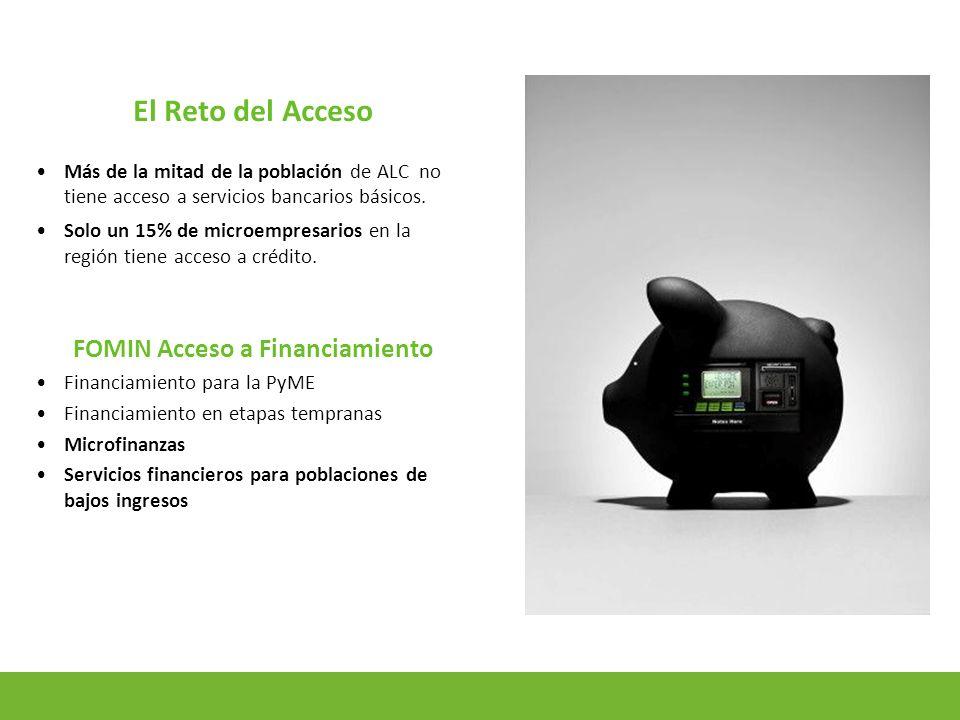6 Microfinanzas Microfinanzas rurales y urbano-marginal.