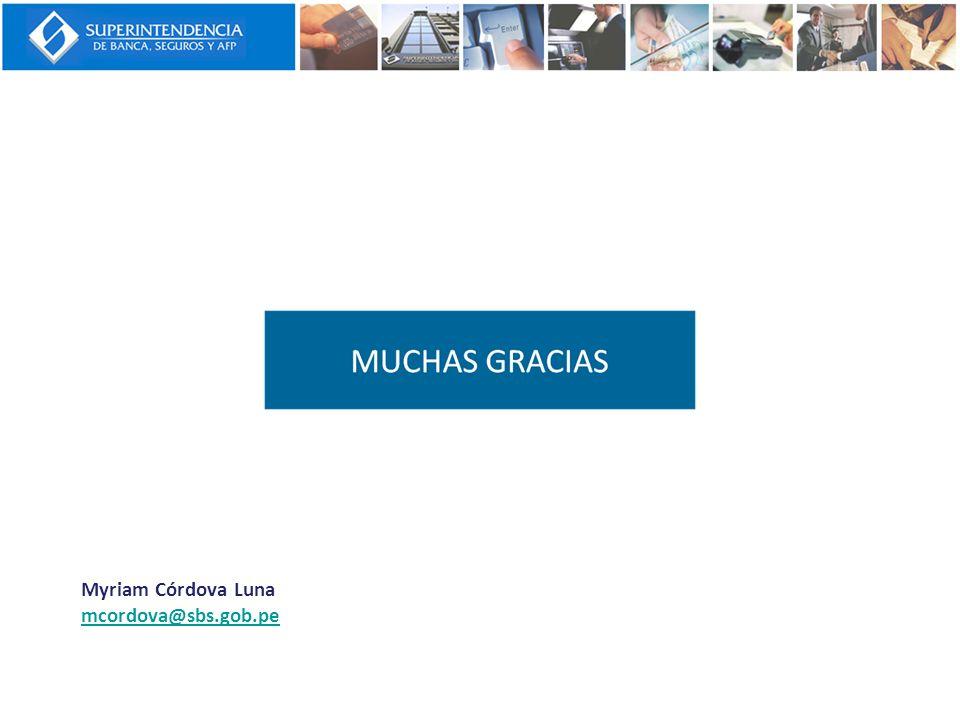 Myriam Córdova Luna mcordova@sbs.gob.pe