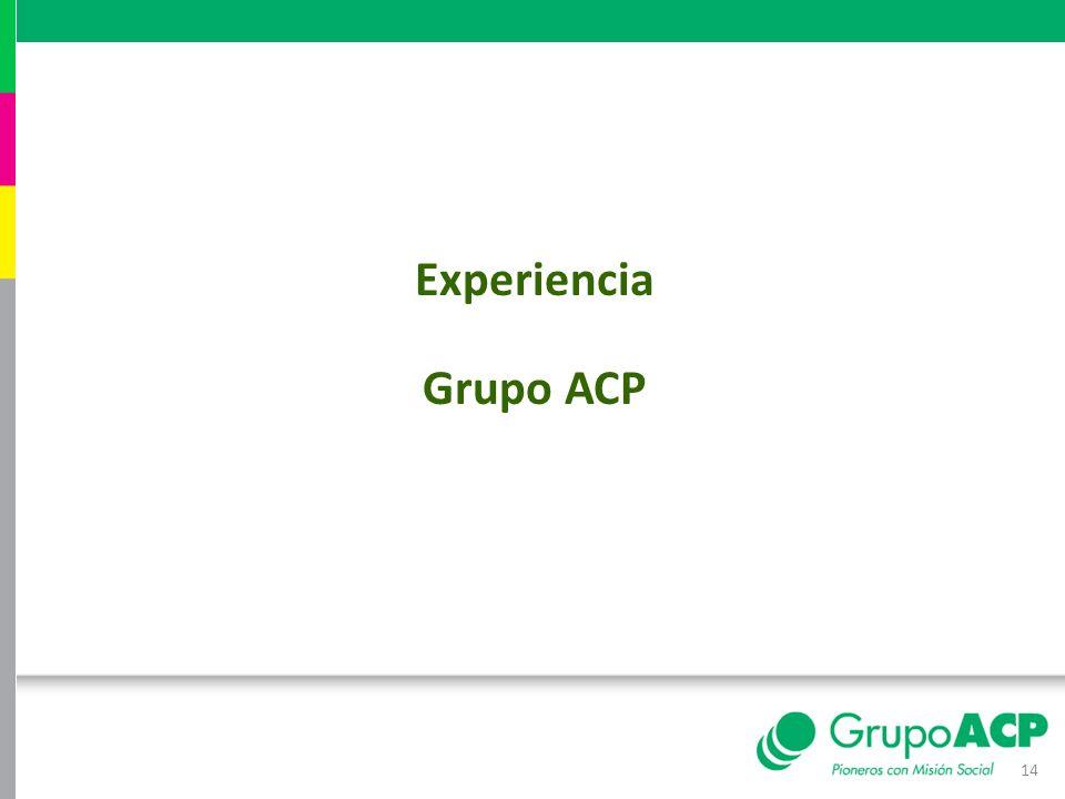 14 Experiencia Grupo ACP