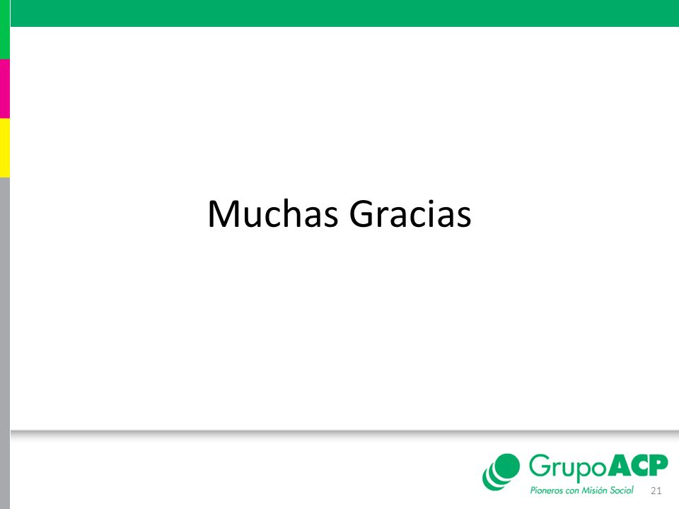 Muchas Gracias 21