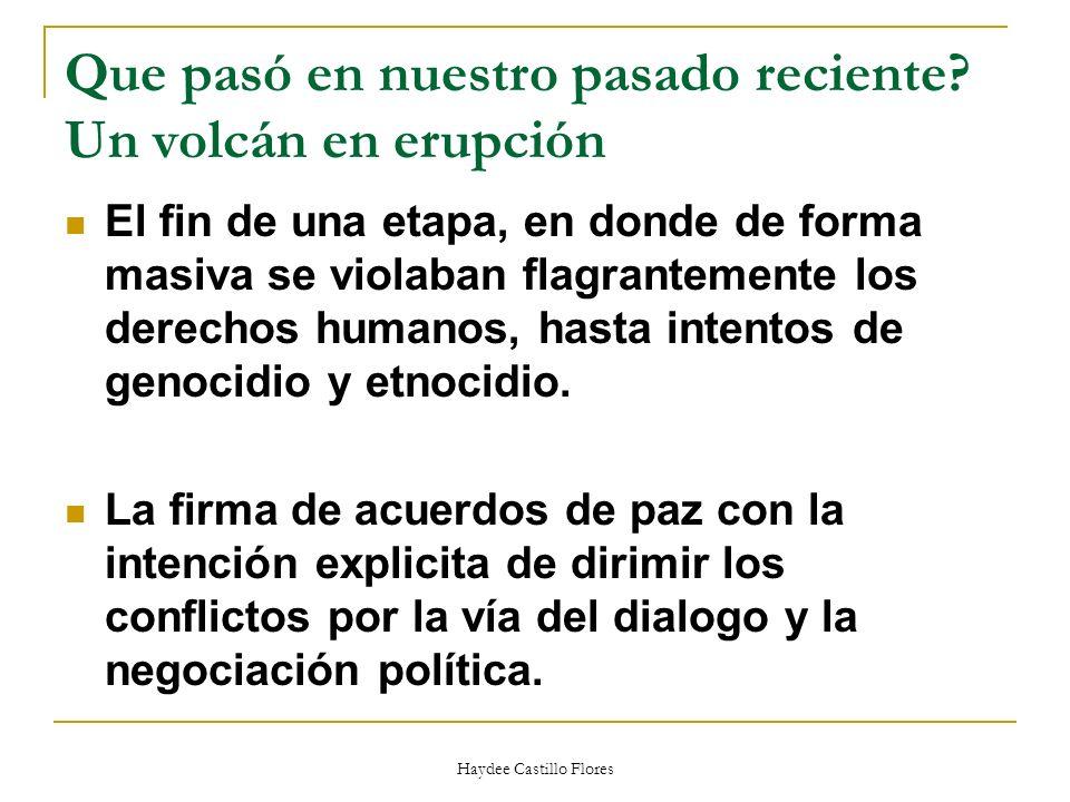 Haydee Castillo Flores Incidencia política Es un tipo de acción colectiva dirigida a influir en el Estado, en las instituciones publicas y en sus políticas.