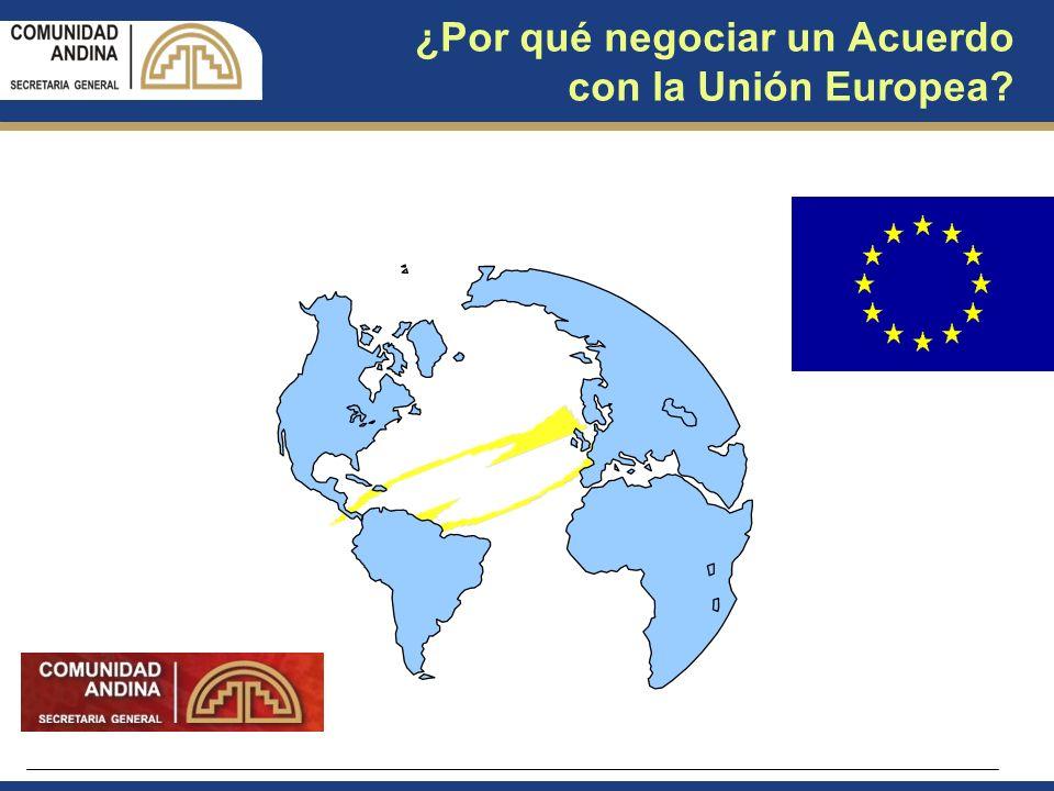 ¿Por qué negociar un Acuerdo con la Unión Europea?