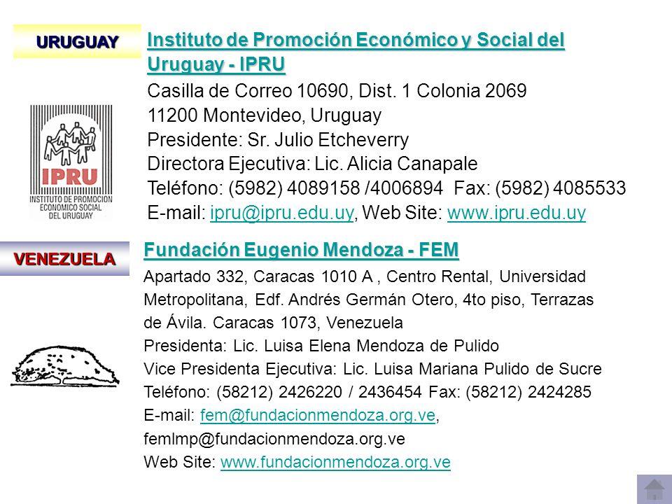 VENEZUELA Fundación Eugenio Mendoza - FEM Fundación Eugenio Mendoza - FEM Apartado 332, Caracas 1010 A, Centro Rental, Universidad Metropolitana, Edf.