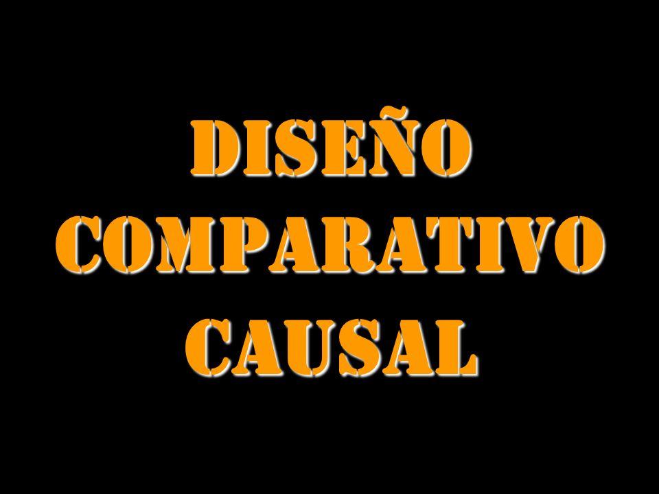 DISEÑO COMPARATIVO CAUSAL
