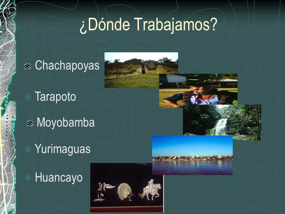 ¿ Como trabaja el componente Ecoturismo? Desde finales del 2001 el programa PODERES (Programa de oportunidades para el desarrollo económico regional q