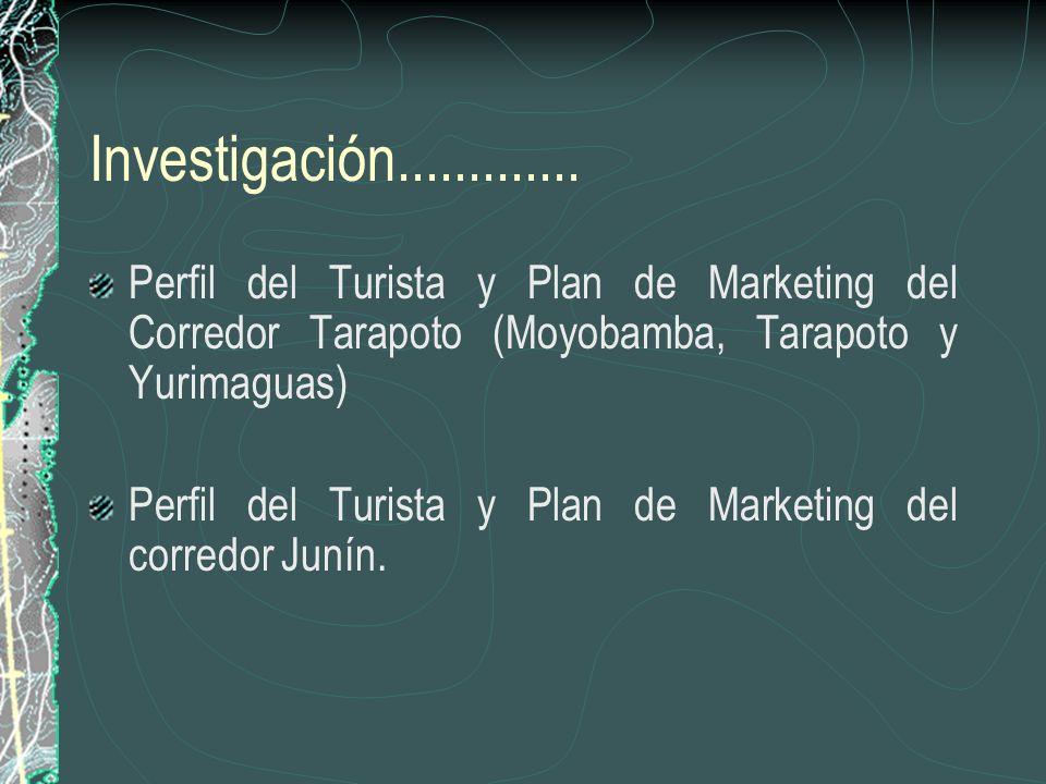 Fortalecimiento Institucional Se han promovido la formación de comisiones de turismo en cada localidad así como asociaciones de guías y operadores. Lo
