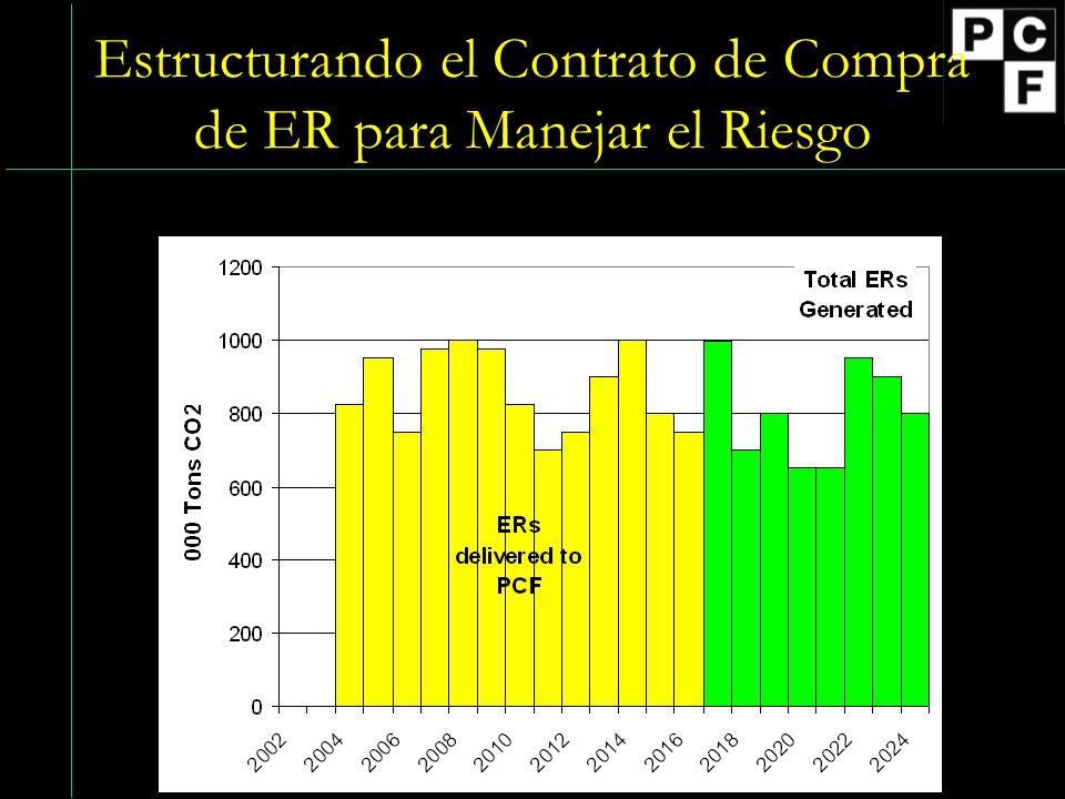 Estructurando el Contrato de Compra de ER para Manejar el Riesgo