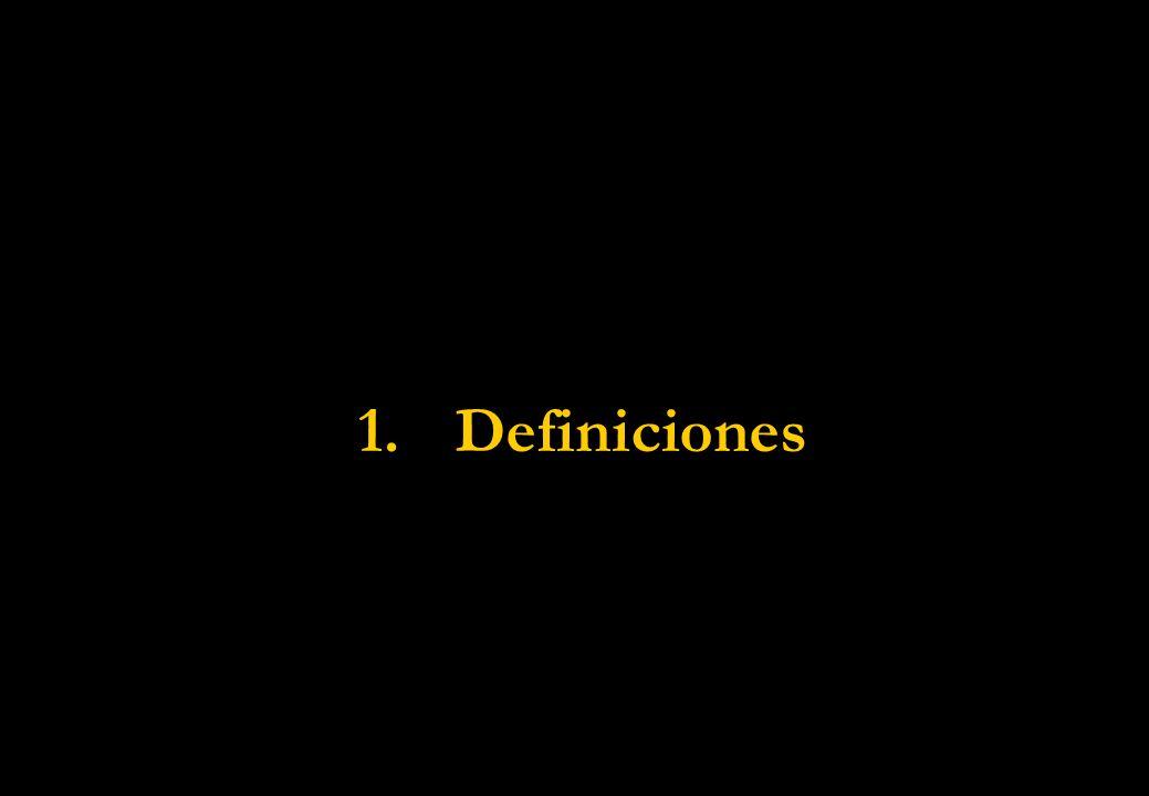 1.Definiciones