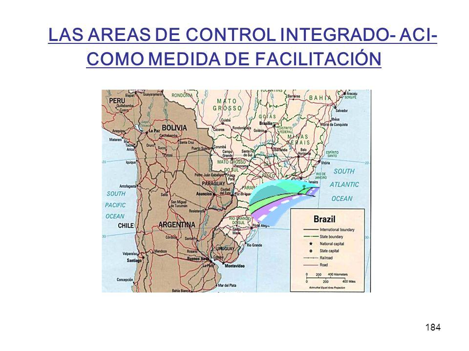 184 LAS AREAS DE CONTROL INTEGRADO- ACI- COMO MEDIDA DE FACILITACIÓN