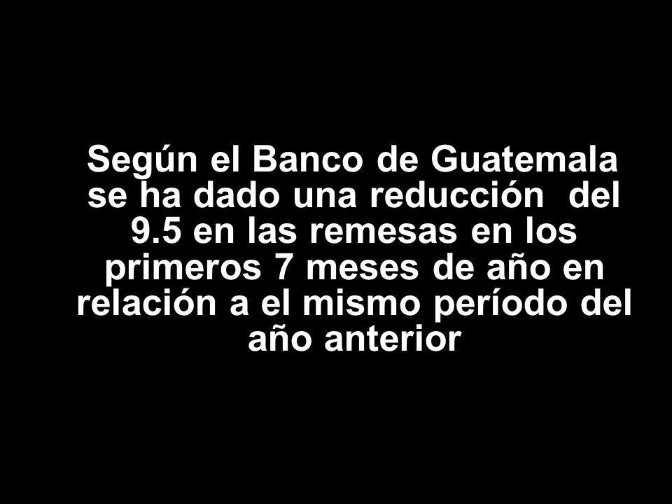 En Guatemala el 56% de los receptores de remesas familiares son mujeres Organización Internacional para las Migraciones 2007