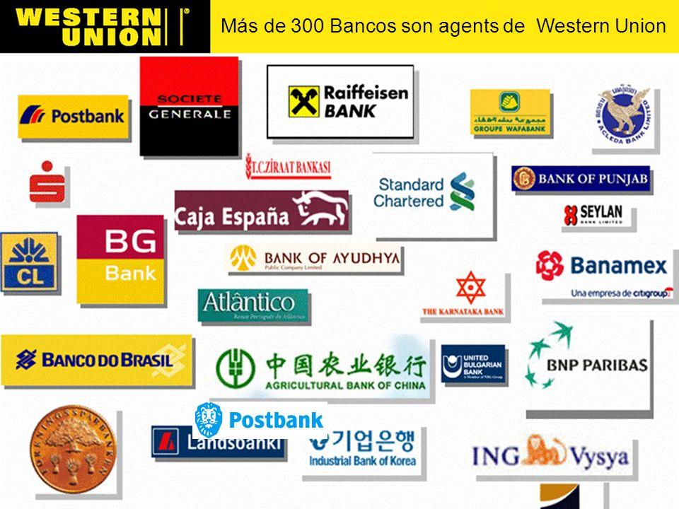 Más de 95 Oficinas de Correos son agentes de Western Union
