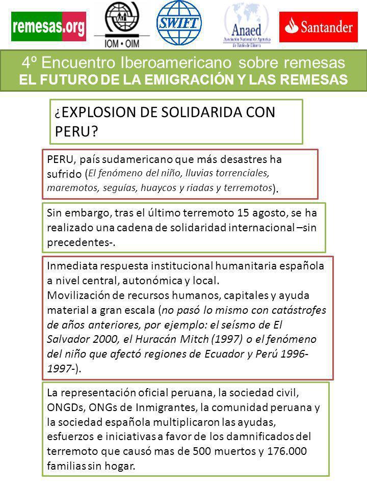 ¿ EXPLOSION DE SOLIDARIDA CON PERU? PERU, país sudamericano que más desastres ha sufrido ( El fenómeno del niño, lluvias torrenciales, maremotos, segu