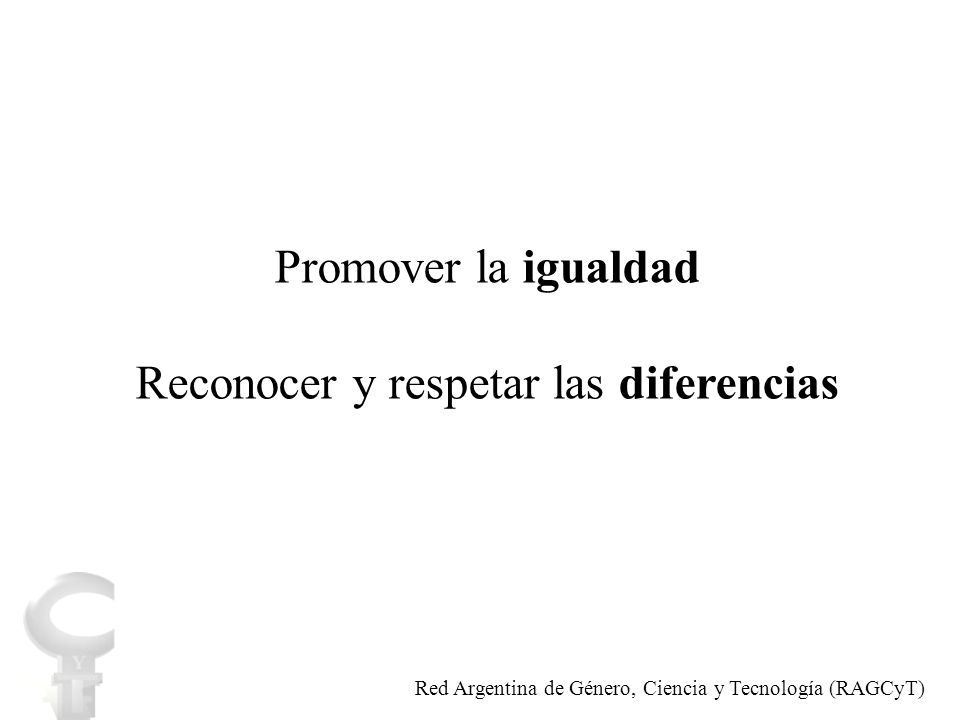 Indicadores normativos Indicadores de capacidad institucional Indicadores de resultados Indicadores de impacto Indicadores Red Argentina de Género, Ciencia y Tecnología (RAGCyT)