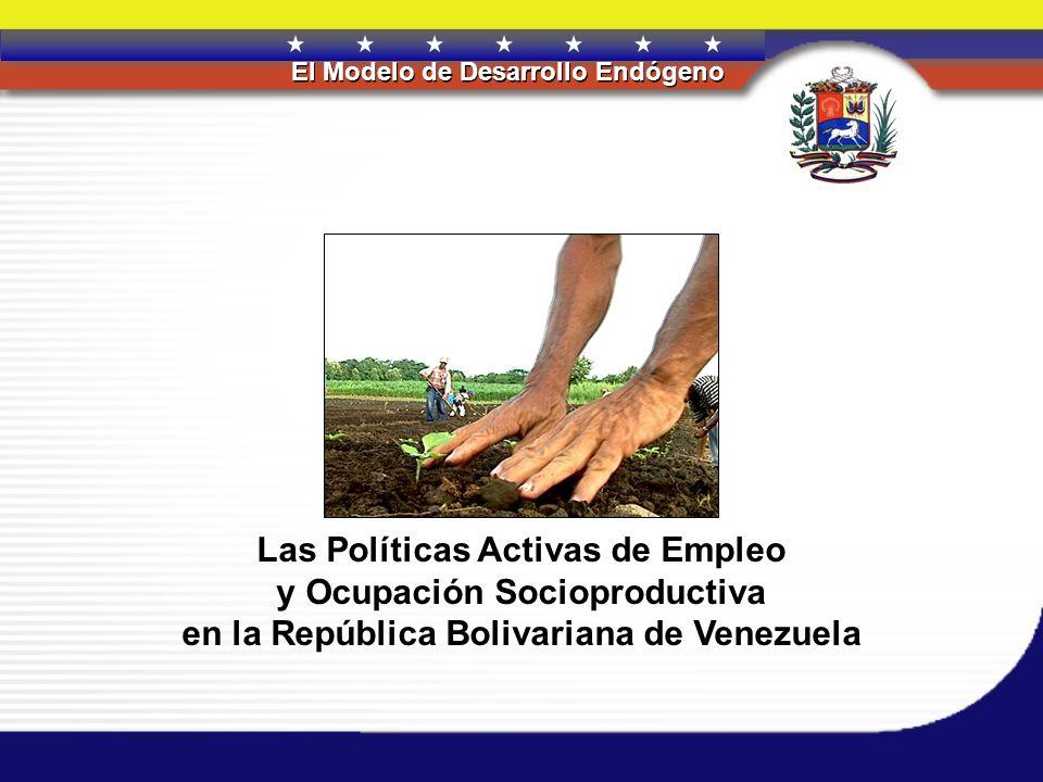 REPÚBLICA BOLIVARIANA DE VENEZUELA El Modelo de Desarrollo Endógeno PRESENTACIÓN La actual coyuntura política, tendente a consolidar una nueva institucionalidad que permita dar respuesta oportuna a las necesidades de la sociedad nacional e internacional, nos obliga a efectuar una profunda revisión que permita la consolidación de una plataforma productiva que garantice el incremento de la calidad de vida y bienestar de nuestros ciudadanos; consolide la posición de Venezuela en los mercados internacionales en rubros no tradicionales de exportación y establezca nuevas formas de relación entre los actores sociales, productivos y consumidores, con su entorno natural.