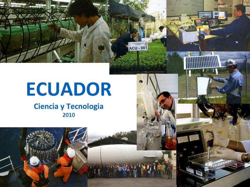 ECUADOR Ciencia y Tecnologia 2010